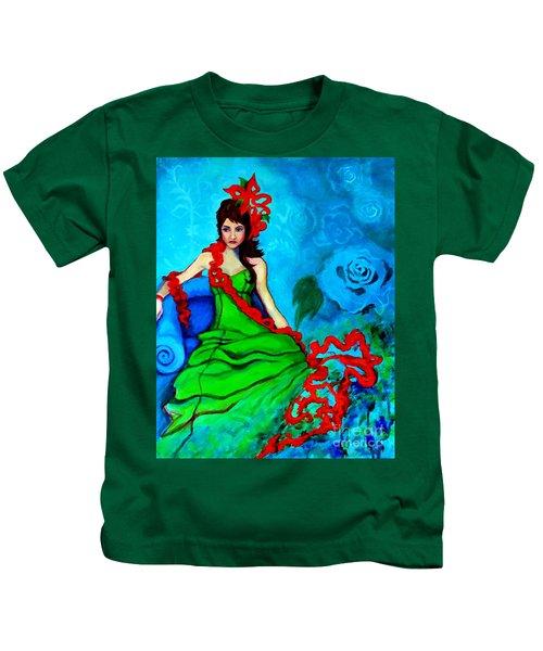 Blue Compliments Kids T-Shirt