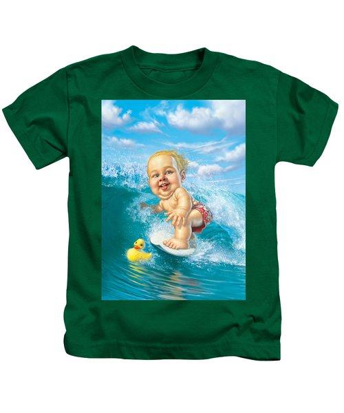 Born To Surf Kids T-Shirt
