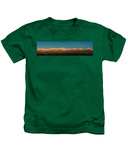 The Presidential Range White Mountains New Hampshire Kids T-Shirt