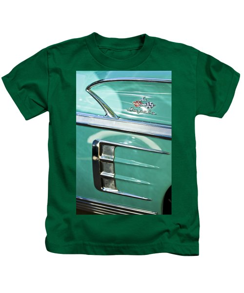 1958 Chevrolet Impala Emblem Kids T-Shirt