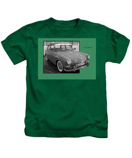 1965 Vw Notchback Kids T-Shirt