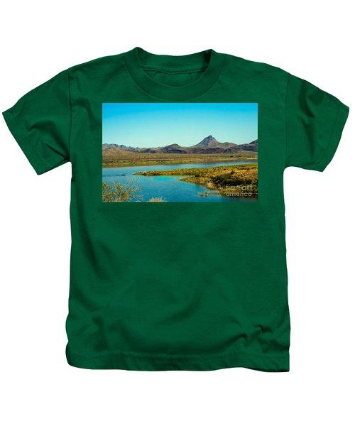 Alamo Lake Kids T-Shirt by Robert Bales