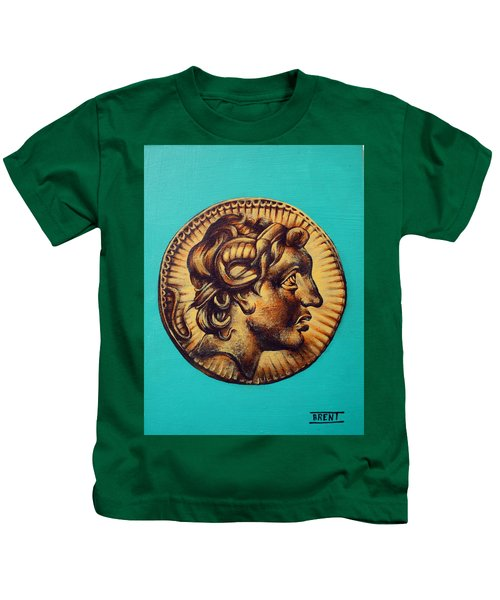 Alexander The Great Kids T-Shirt