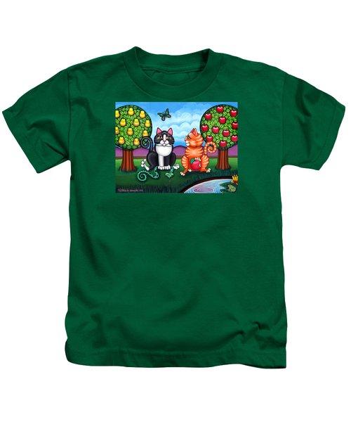 Atom And Eva Kids T-Shirt