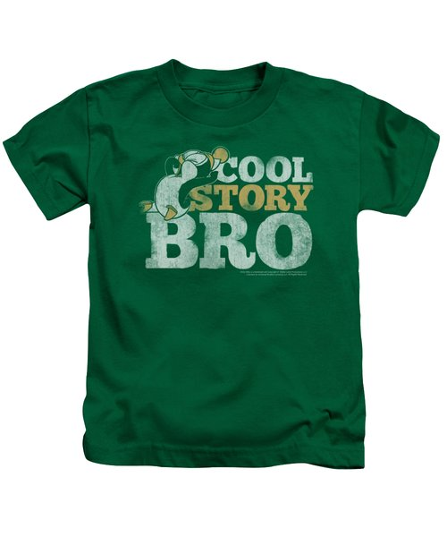 Chilly Willy - Cool Story Kids T-Shirt by Brand A