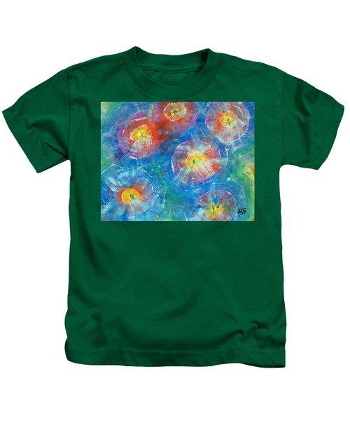 Circle Burst Kids T-Shirt