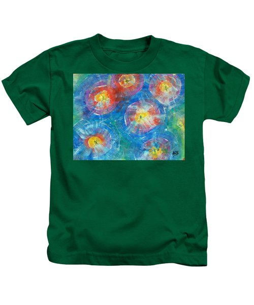 Circle Burst Kids T-Shirt