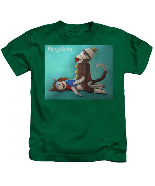 Dirty Socks 4 With Lettering Kids T-Shirt