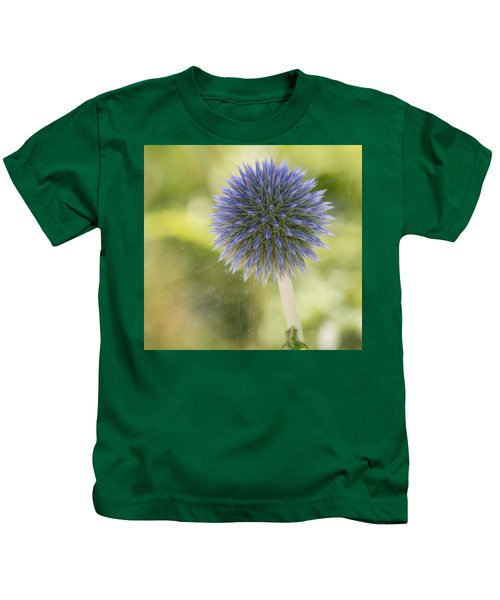 Echinops Blue Kids T-Shirt
