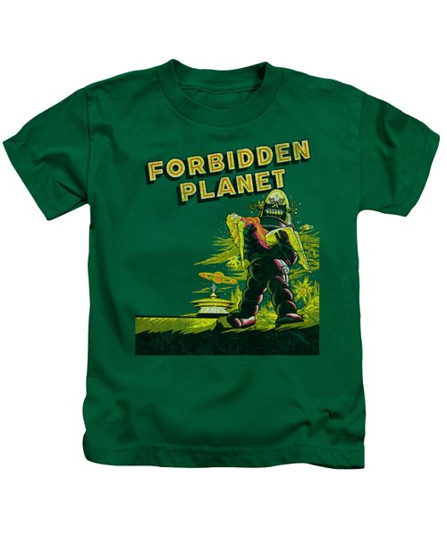 Forbidden Planet - Old Poster Kids T-Shirt