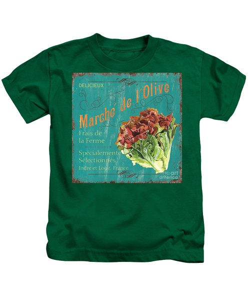 French Market Sign 3 Kids T-Shirt