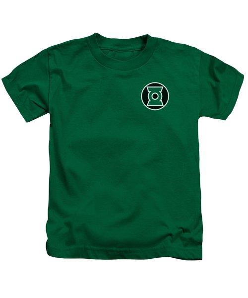 Green Lantern - Kyle Rayner Logo Kids T-Shirt