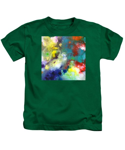 Holding The High Watch Canvas Two Kids T-Shirt