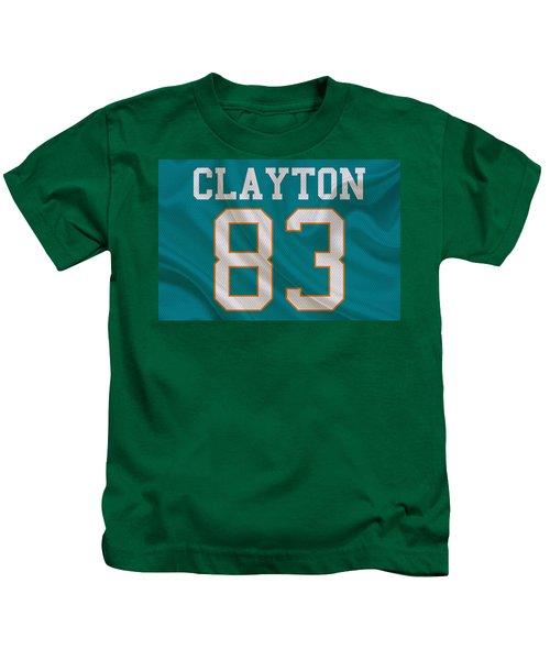 Miami Dolphins Mark Clayton Kids T-Shirt
