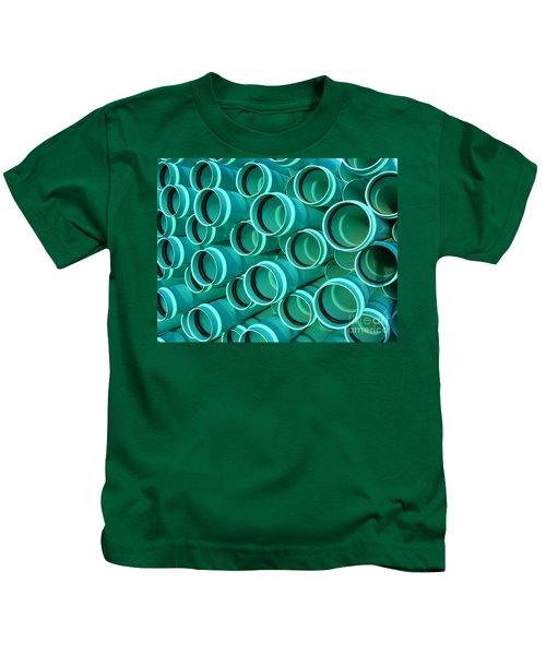 Pvc Pipes Kids T-Shirt
