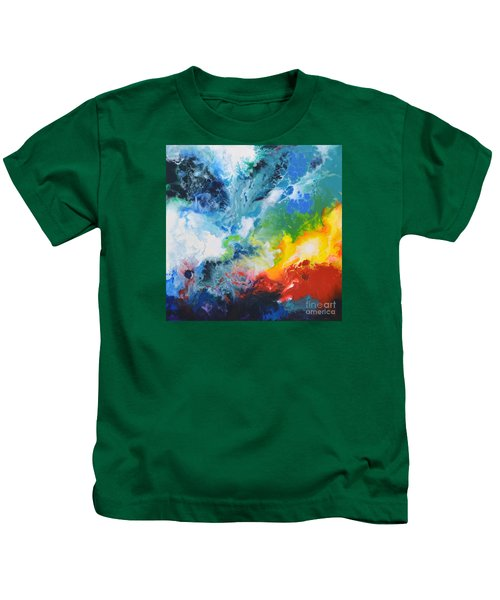 Spark Of Life Canvas Two Kids T-Shirt