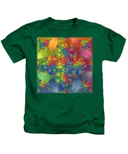 Spring Promises Fractal Kids T-Shirt