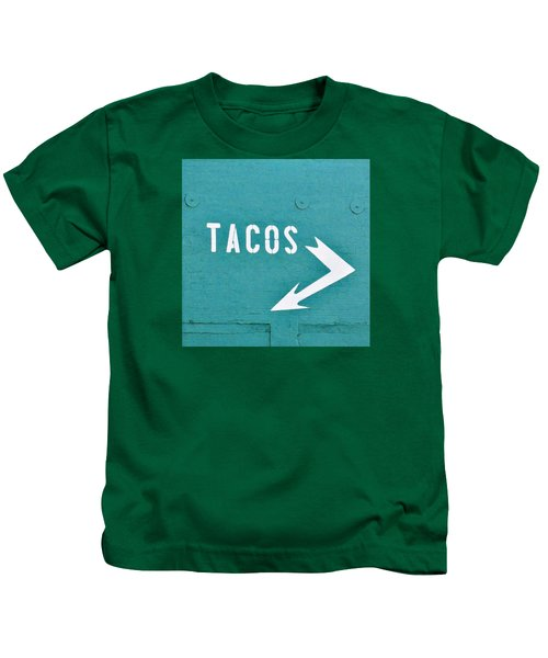 Tacos Kids T-Shirt by Art Block Collections