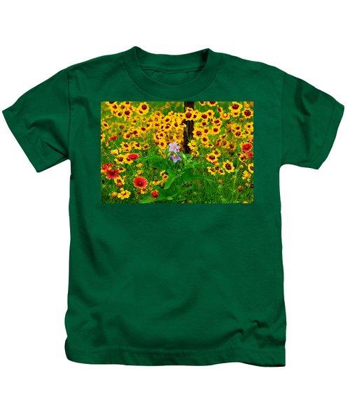 Texas Spring Delight Kids T-Shirt