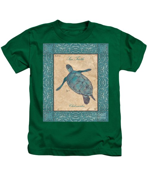 Verde Mare 4 Kids T-Shirt