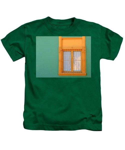 Windows Of The World - Santiago Chile Kids T-Shirt