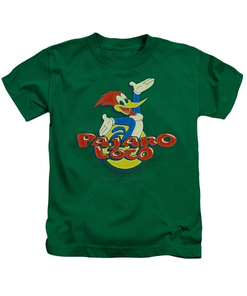 Woody Woodpecker - Loco Kids T-Shirt by Brand A