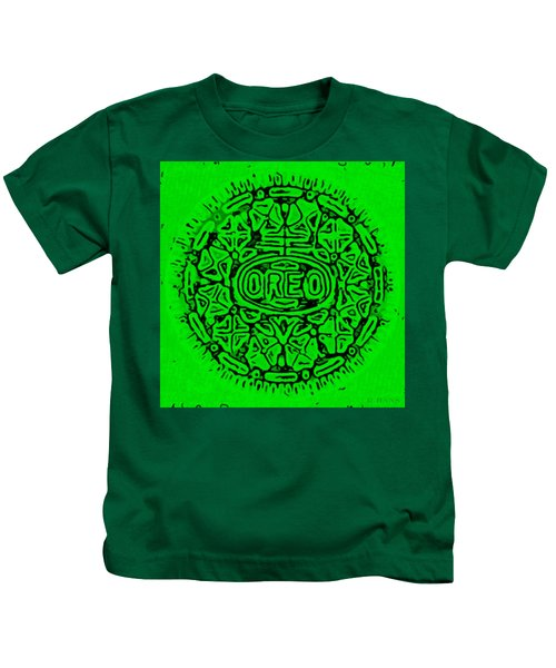 Green Oreo Kids T-Shirt