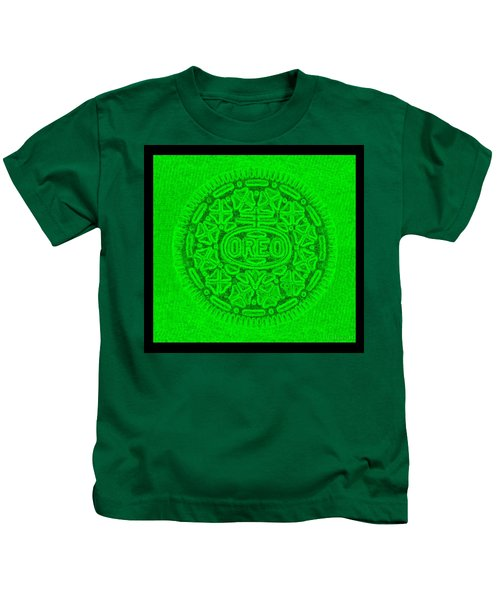 Oreo In Green Kids T-Shirt