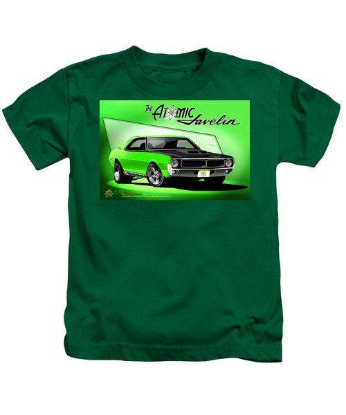 The Atomic Javelin Kids T-Shirt