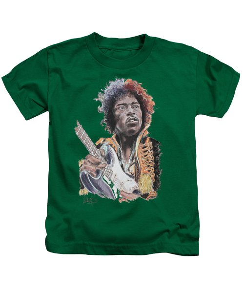 Jimi Hendrix 1 Kids T-Shirt