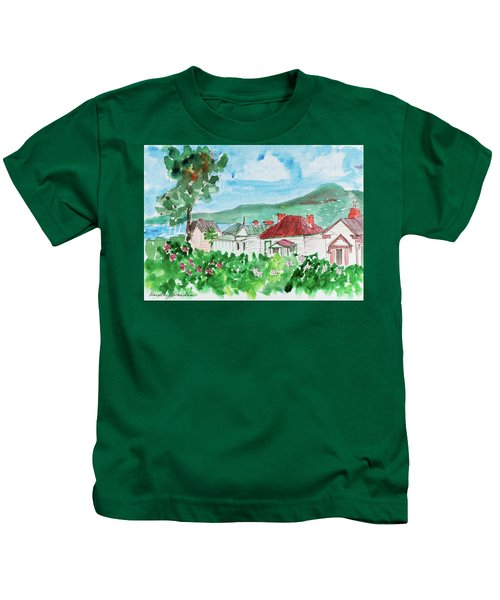 View From Battery Point Kids T-Shirt
