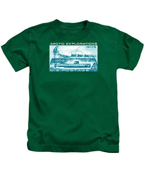 1959 Arctic Explorations Kids T-Shirt