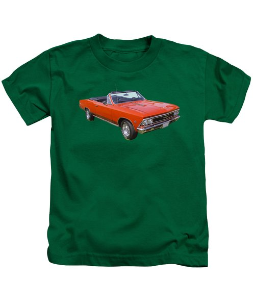 1966 Chevrolet Chevelle Convertible 283  Kids T-Shirt