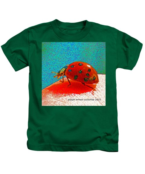 A Spring Lady Bug Kids T-Shirt