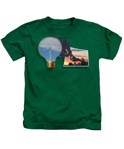 Alternative Energy Kids T-Shirt