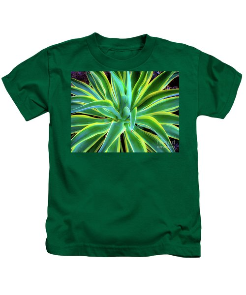An Agave In Color  Kids T-Shirt