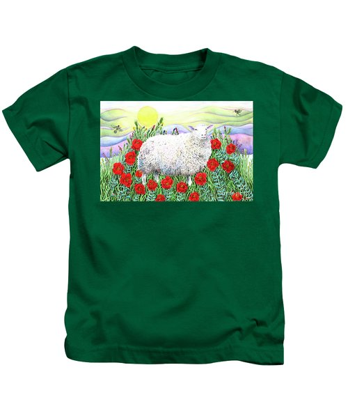 Arrival Of The Hummingbirds Kids T-Shirt