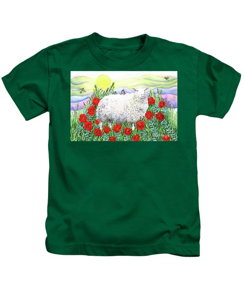 Arrival Of The Hummingbirds Kids T-Shirt