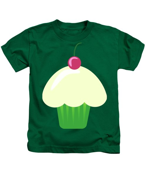 Cherry Cupcake  Kids T-Shirt