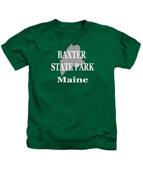 Baxter State Park Pride Kids T-Shirt