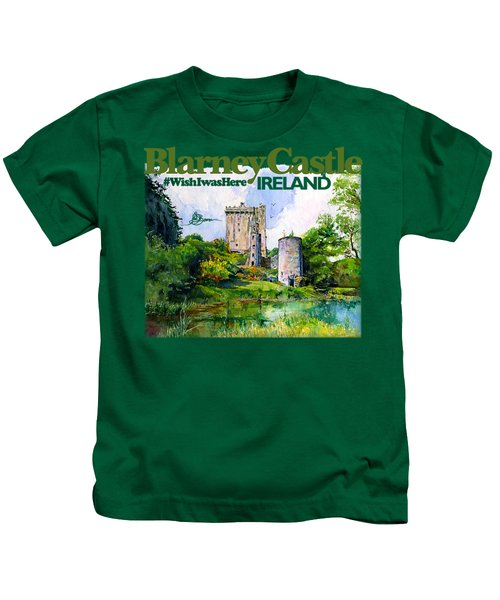 Blarney Castle Ireland Kids T-Shirt