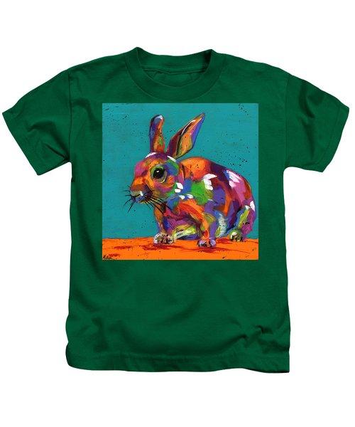 Bunny Blue Kids T-Shirt
