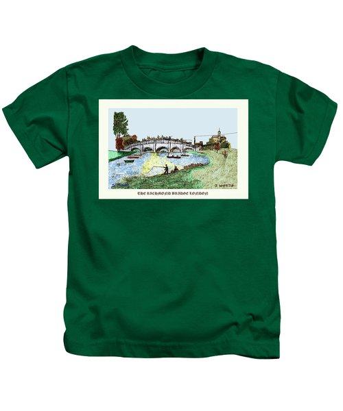 Busy Richmond Bridge Kids T-Shirt