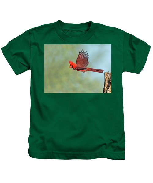 Cardinal On A Mission Kids T-Shirt