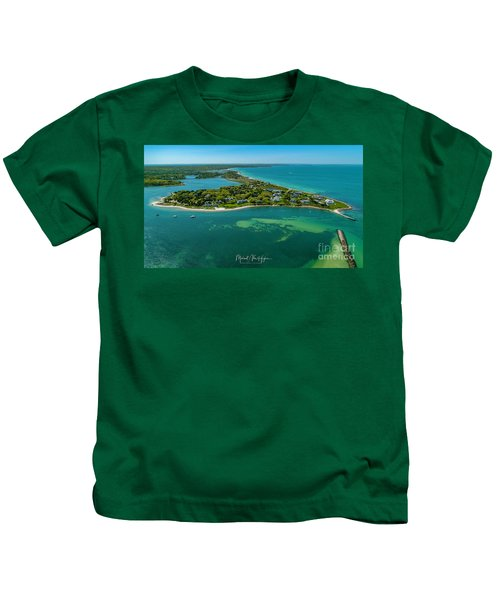 Chapoquoit Island Kids T-Shirt