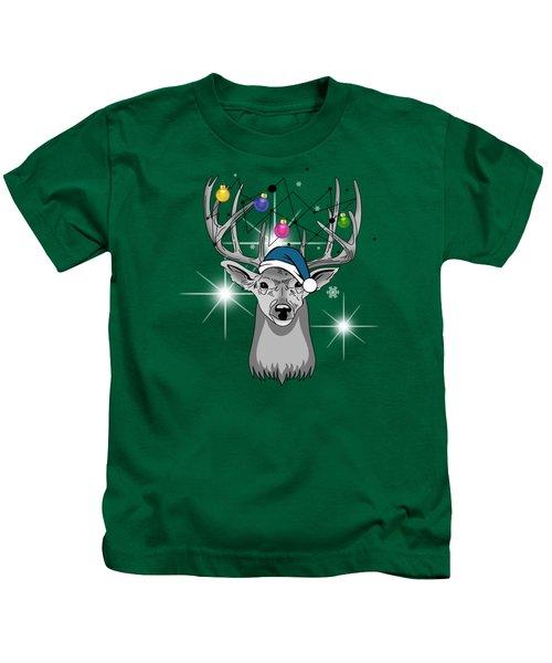 Christmas Deer Kids T-Shirt