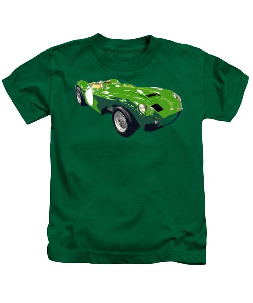 Classic Sports Green Art Kids T-Shirt