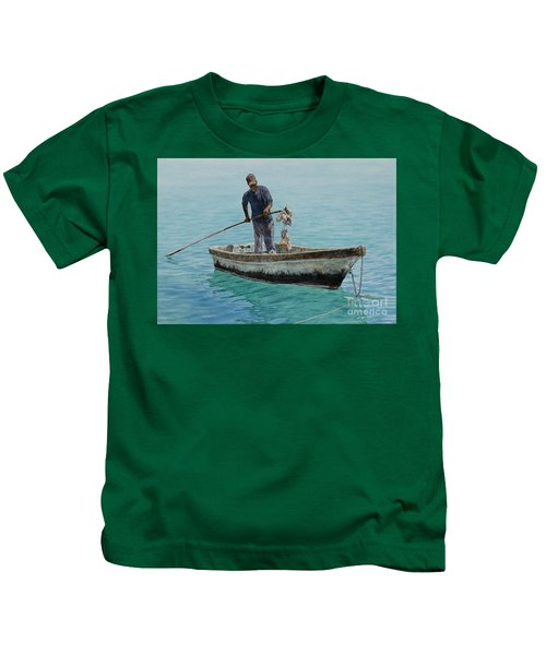 Conch Pearl Kids T-Shirt