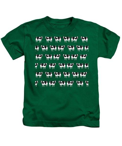 Cows Pattern Kids T-Shirt