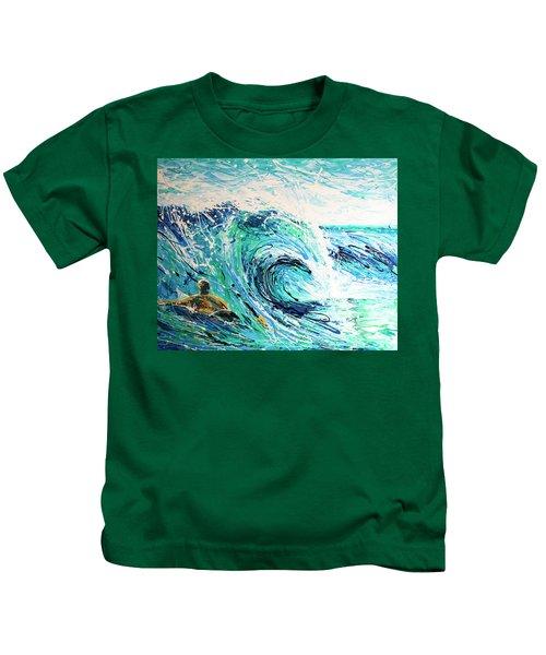 Crossing The Sandbar Kids T-Shirt
